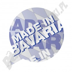 Made in Bavaria - naklejka